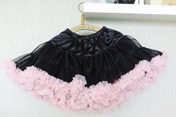 czarno- różowa