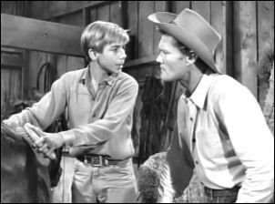 Johnny Crawford Chuck Connors Rifleman Season 4