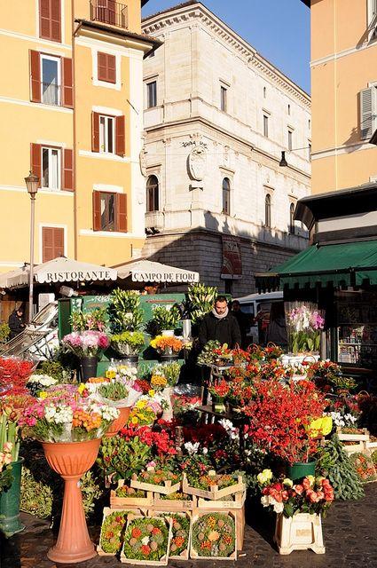 Campo de' fiori...de nome e de fatto, Roma   Flickr – Condivisione di foto!