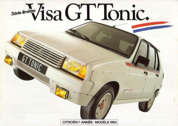 Citroën Visa GT Tonic - french brochure (1984)
