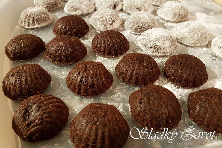 Kakaové medvedie labky, vianočné pečenie, drobné koláčiky