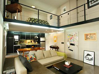 decoracin grandes ideas espacios chicos un loft industrial en un hogar foxlifetv pensando en un hogar living pinterest