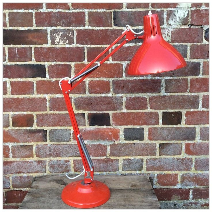Red Anglepoise Lamp By Thousand And One Lamps Anglepoise Lamp Anglepoise Lamp