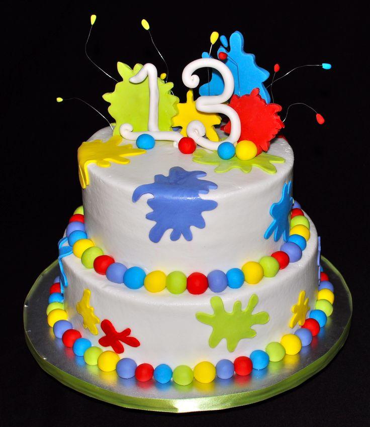 Paintball Birthday Cake | Cake Innovations, LLC