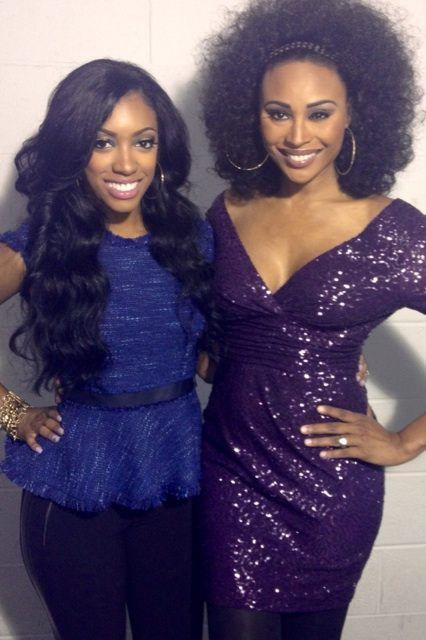 Will Cynthia Bailey be demoted to a 'Friend' on Real Housewives Of Atlanta after kicking Porsha Williams?