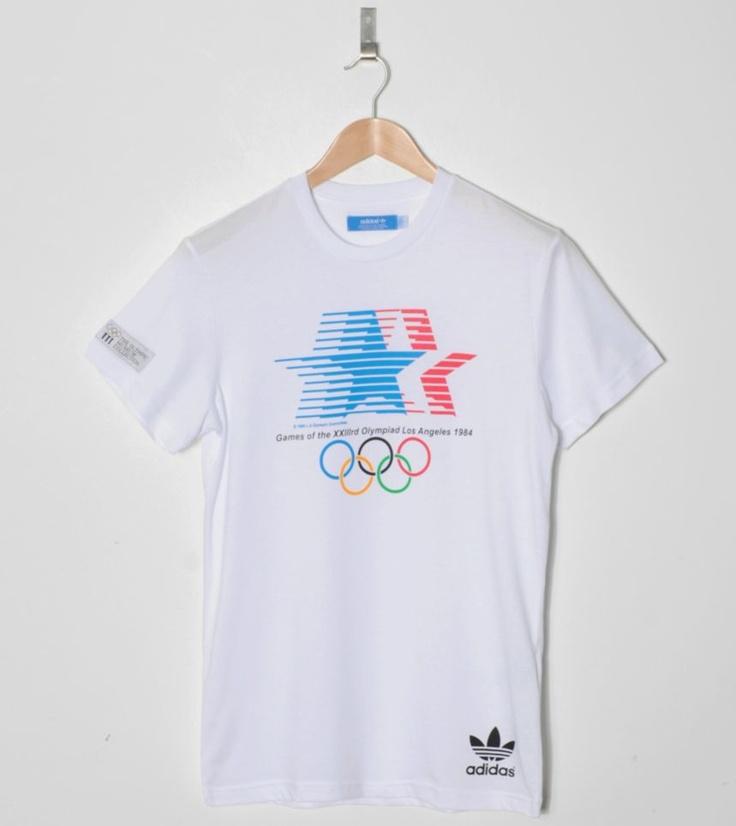 Adidas Originals Team GB Olympic LA 84 T-Shirt