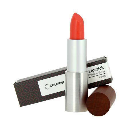 Rouge à lèvres corail COLORISI - www.parisrivebio.com