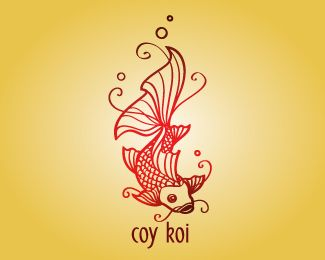 Logo Design - coy koi