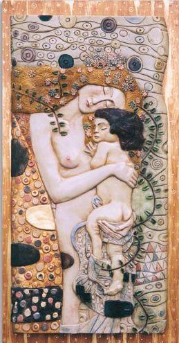 La Maternidad de Klimt. Referencia 4027 de nuestro catálogo