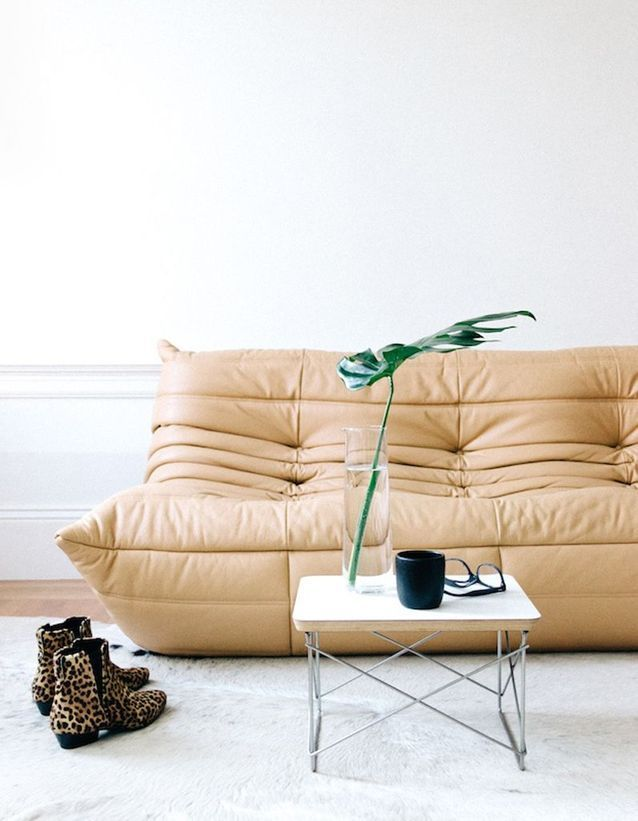 Le Mythique Canape Togo En 20 Inspirations Elle Decoration Canape Togo Canapes Tendance Mobilier De Salon