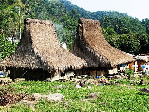 Flores: Ndona Traditional Village of Ende in Flores Indonesia