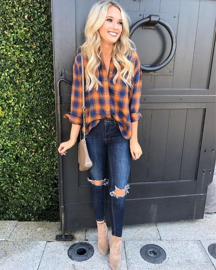 44 Stunning Fall Outfits Ideas To Wear At School 1