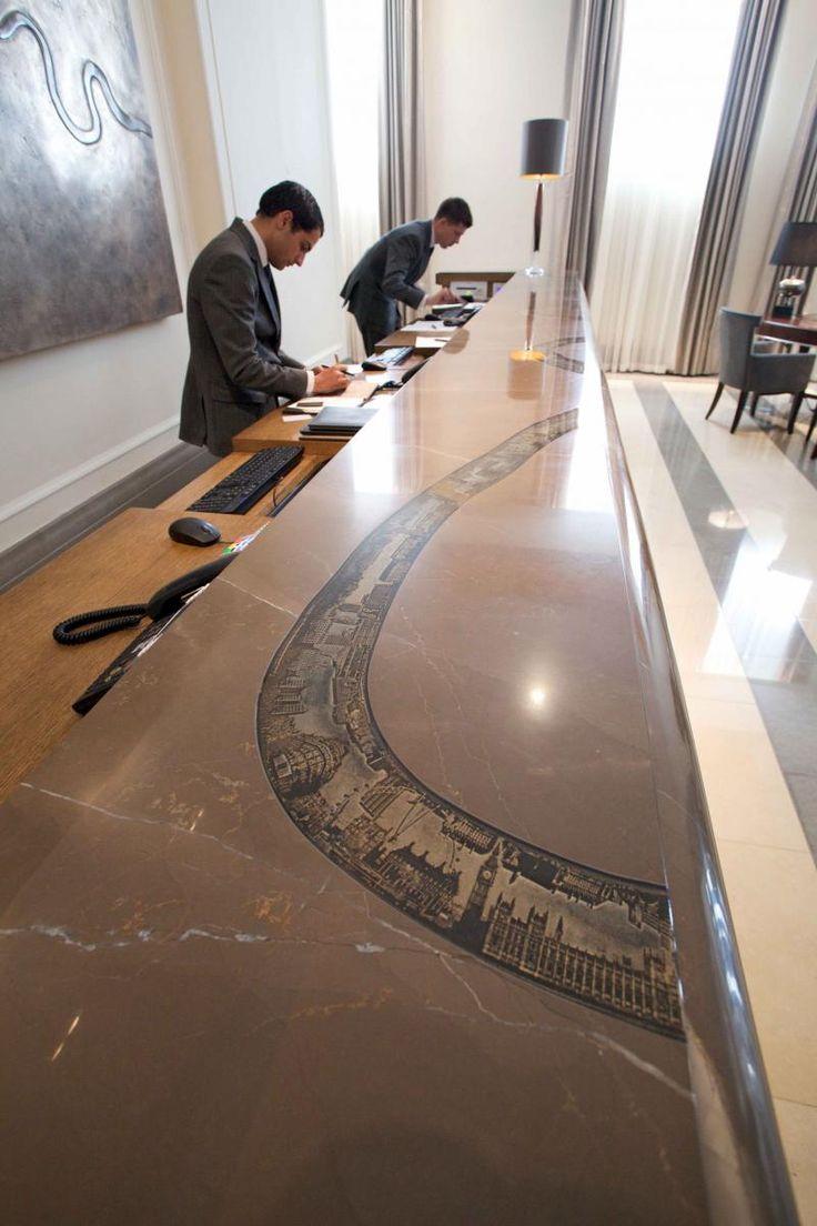 536 best reception desks images on pinterest | lobby reception