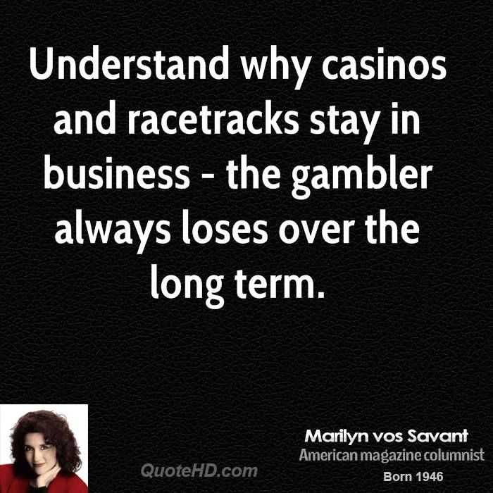 Marilyn vos Savant Business Quotes | QuoteHD