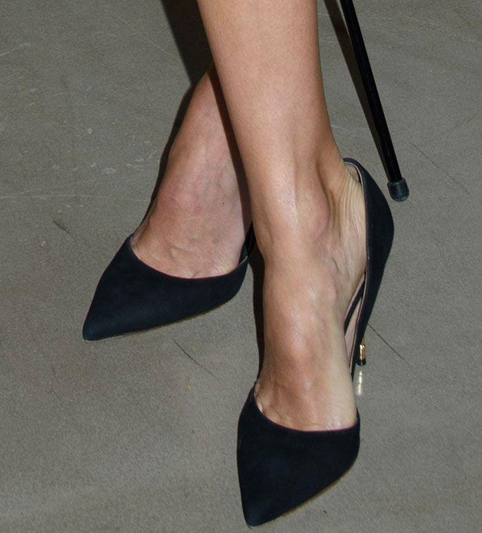 Kurt Geiger Court Shoes Jessica Alba