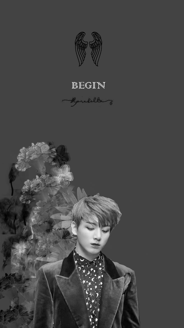 BTS / Jungkook / Wings / Wallpaper P. S: I disappear for awhile but i'm back with new wallpapers/lockscreens , not all are mine.