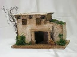 Risultati immagini per costruire casette in legno per presepe
