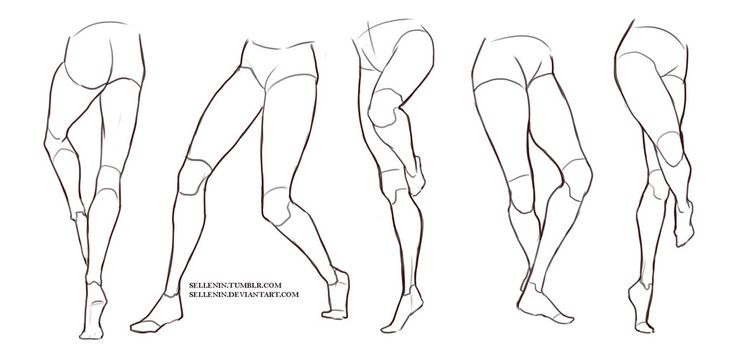 Legs reference by Sellenin ★ || CHARACTER DESIGN REFERENCES (https://www.facebook.com/CharacterDesignReferences & https://www.pinterest.com/characterdesigh) • Love Character Design? Join the #CDChallenge  (link→ https://www.facebook.com/groups/CharacterDesignChallenge) Promote your art in a community of over 40.000 artists! || ★
