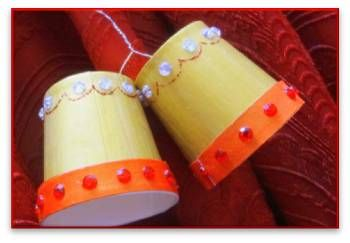 how to make paper christmas bells