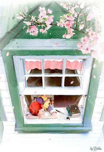 Anne's Green Gables Cottage ~ Debbie ❤