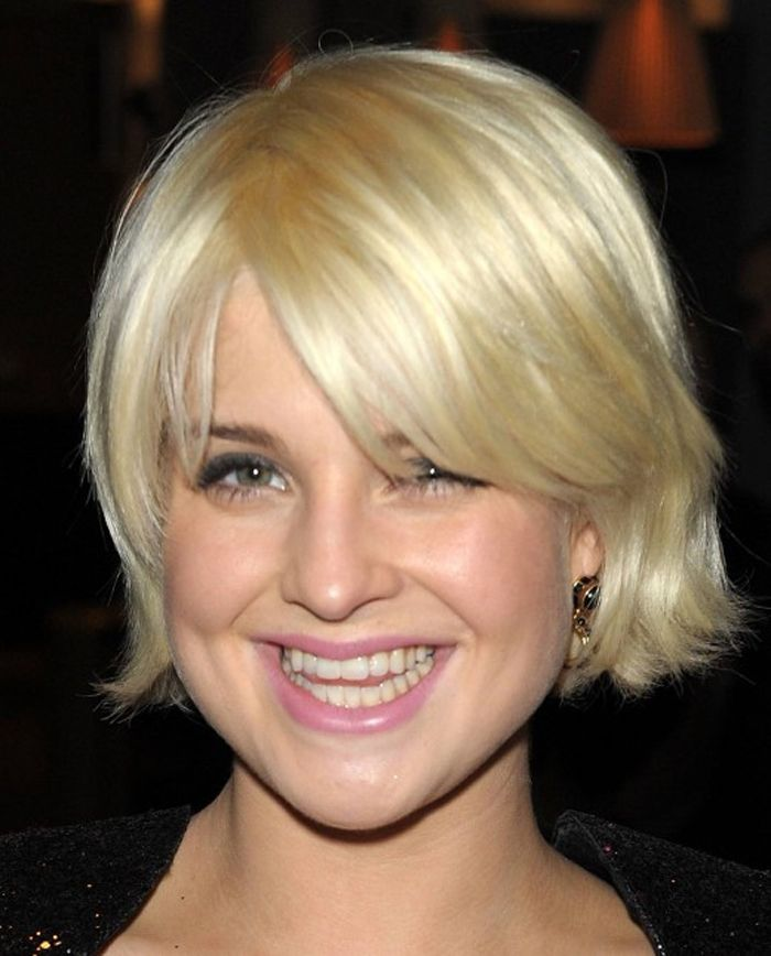 Short Wavy Hairstyles For Thin Hair And Round Face