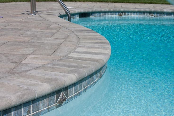 samples of pool coping