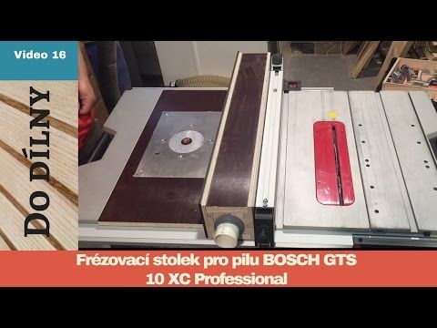 Best 25 bosch router table ideas on pinterest router table diy frzovac stolek pro pilu bosch gts 10 xc router table for bosch gts 10 xc greentooth Image collections