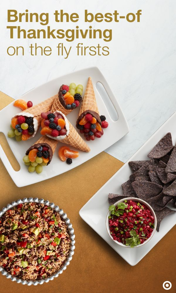 Even as a guest you can earn major turkey points with the perfect addition to any Thanksgiving table. Click to discover inventive recipe ideas sure to stand out without taking all day to prepare. Even your foodie friends will want all of your secrets. Master these must haves: Fruit and waffle cone-ucopias, prosciutto-wrapped asparagus, rice and beans salad, caramel apple nachos and more. Click to find your new Thanksgiving favorite sure to impress family and friends.