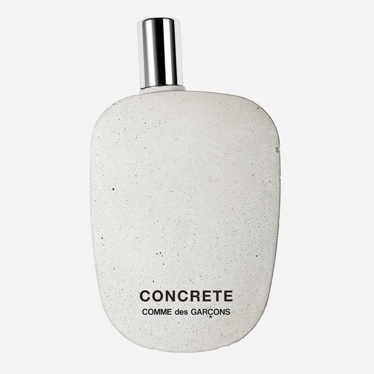 Concrete is the muse for a new fragrance by Japanese fashion house Comme des Garçons, which comes in a bottle made from the building material.