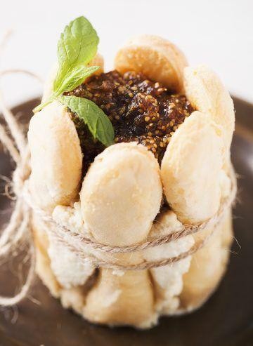 Torciki mascarpone z musem ze złotych owoców #miechunka #zloteowoce #deser #desert #cake #delektujemy