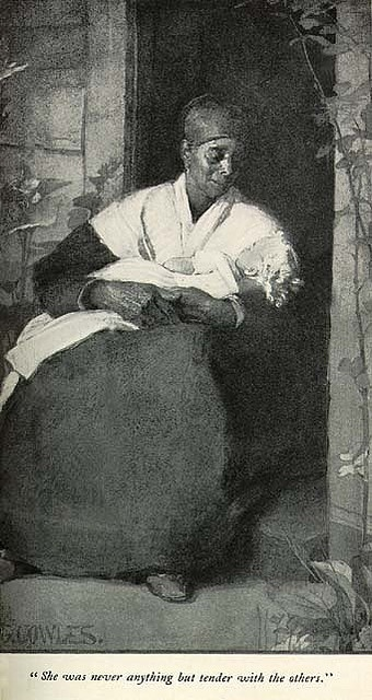 Slave Wet Nurse.  How could you do this and then turn your back on this woman? I never understood this disconnection.