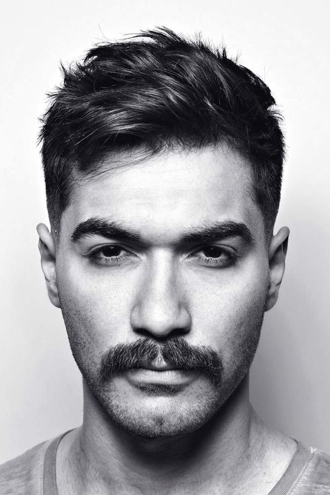 13++ Haircuts that go with mustaches ideas