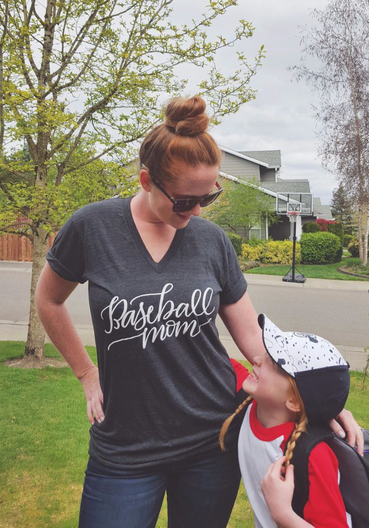 In Spring, we Baseball! And sometimes in Summer, Fall, & Winter too! Cheer on the sidelines sportin' our brand new Baseball Mom Tee! **Our New relaxed fit shirts are unisex, please size down if you li