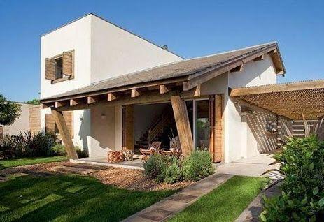 30 Casas Modernas Con Disenos De Vanguardia Casas De Campo Pequenas Casas Rusticas Modernas Casas Rusticas