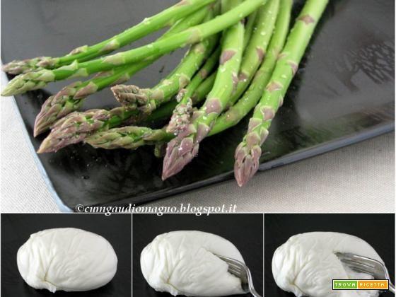 Lasagna con asparagi e burrata  #ricette #food #recipes