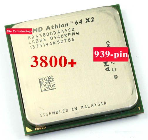 Lifetime warranty Athlon 64 X2 3800+ 2.0GHz 1M Dual Core desktop processors CPU Socket