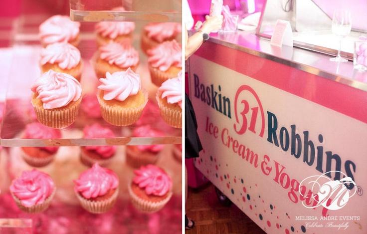 Baskin Robbins cart of fun   Old version   www.pinkspoonevents.com  baskinrobbinsorleansandcatering  702-483-9652