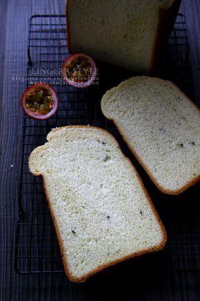 百香果吐司(面包机版)