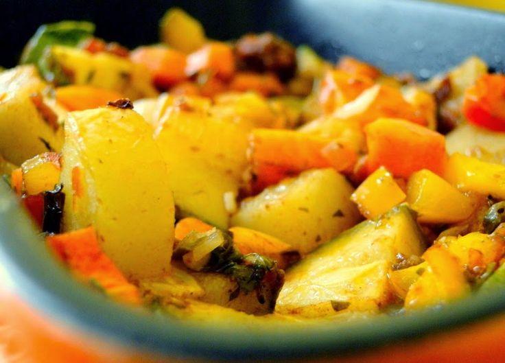 Legumes Assados do Jamie Oliver