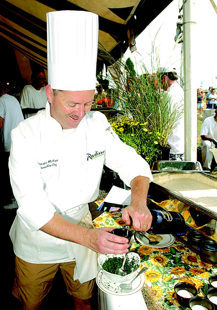 Crab Soup CookOff at the Maryland Seafood Festival at