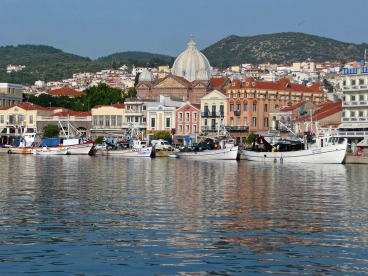Mytilene (Greek: Μυτιλήνη; Mitilini in Modern Greek) Harbour. #Mytilene is the capital of #Lesbos Island, #Greece