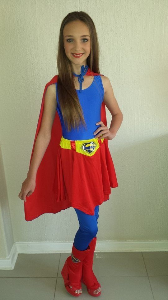 Perfect Supergirl outfit