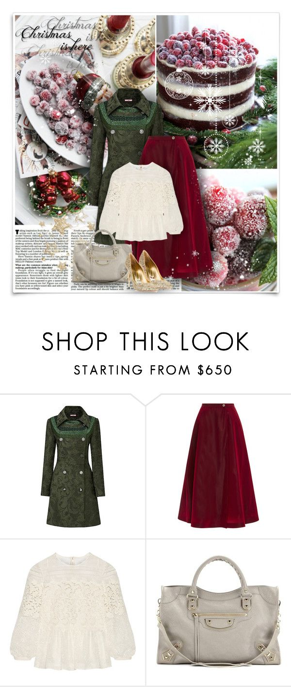 """Christmas in Cranberry"" by alisa138 ❤ liked on Polyvore featuring McGuire, Joe Browns, Tome, Burberry, Balenciaga, Sebastian Milano, women's clothing, women, female and woman"