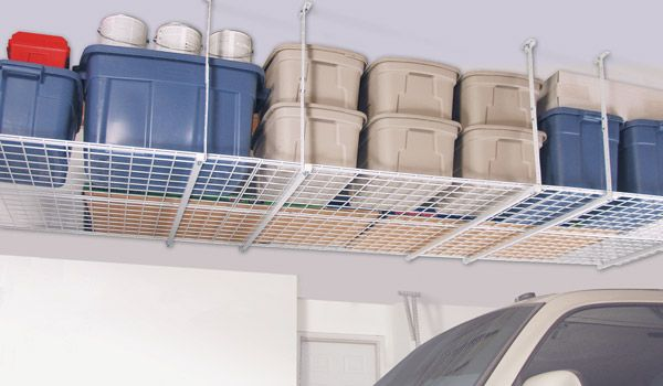 Four by Four Overhead Storage