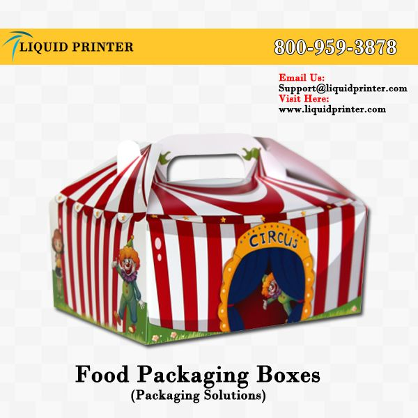 #FoodPackagingBoxes Avaiable at #LiquidPrinter