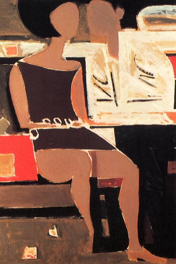 Yiannis Moralis, Greek painter 1916-2009