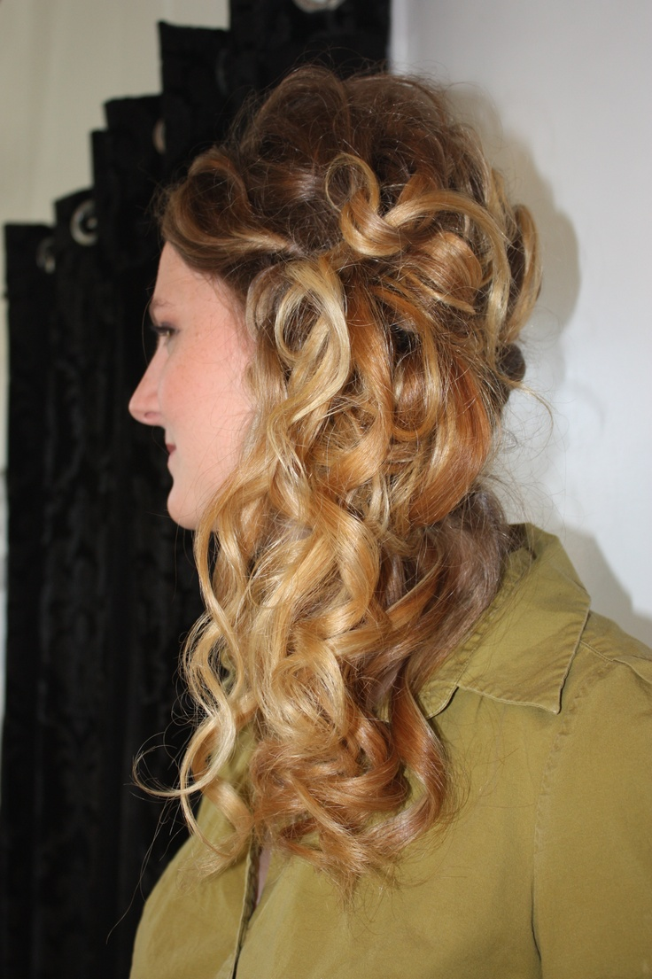 Another glance at the style done by Stephanie  at La Dolcevita Day Spa and Salon