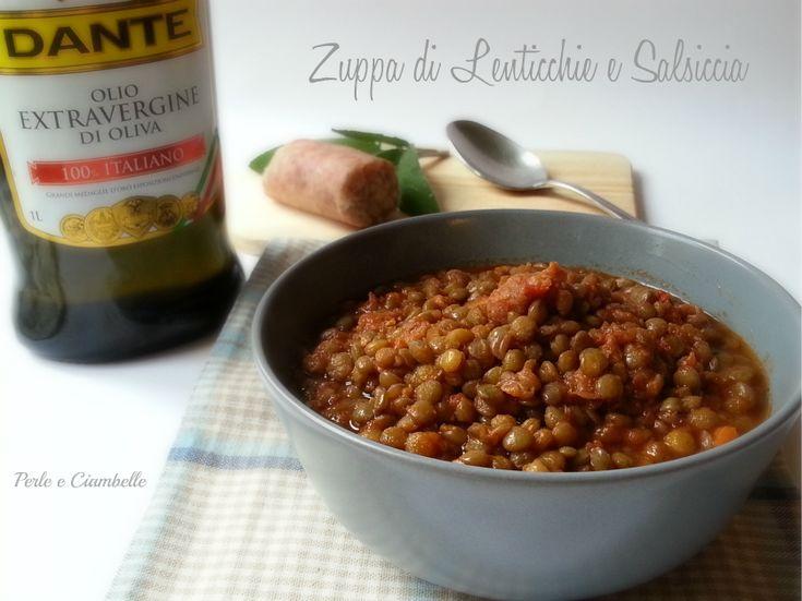 La zuppa di lenticchie e salsiccia : il piatto che non può mancare al vostro cenone di capodanno!