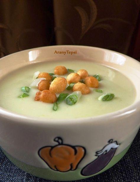 AranyTepsi: Újhagymás krumplikrémleves