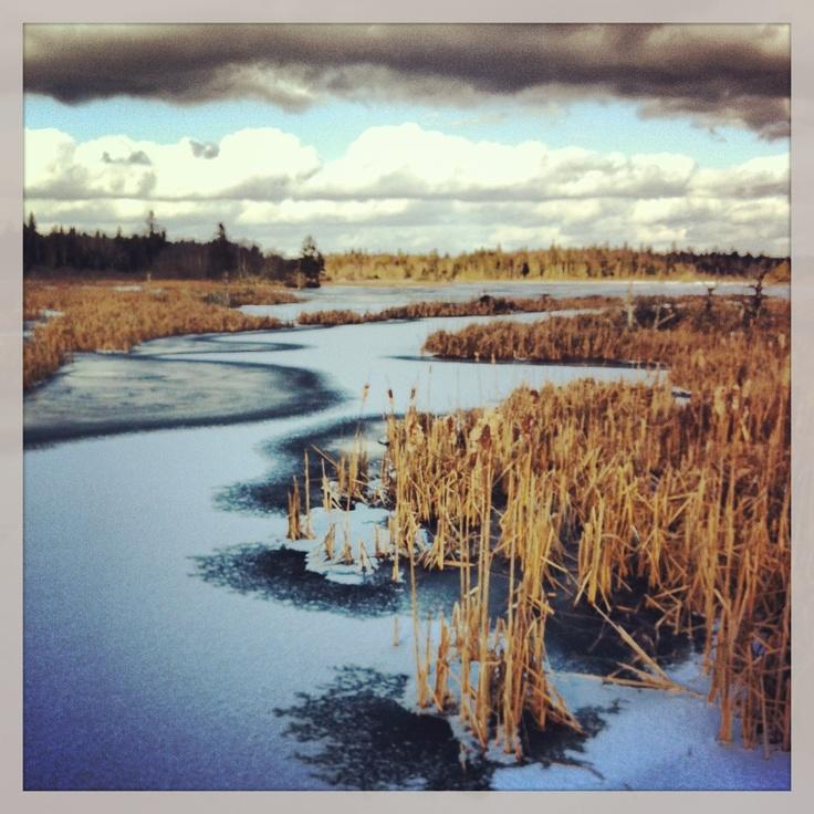 Winter at west berlin Nova Scotia @ blueberry-bay.com